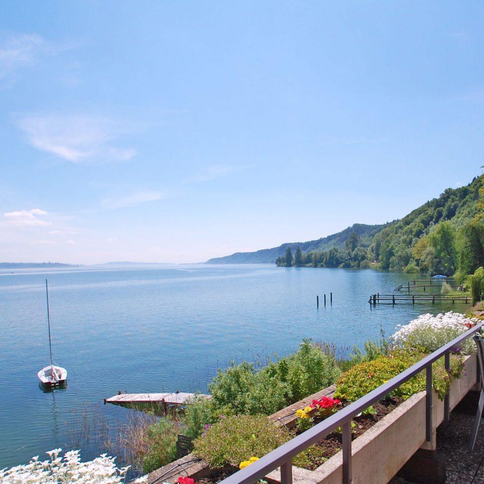 Ferienwohnung Blick von der Terrasse